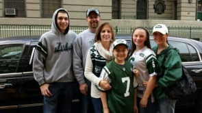 I wish to go to a Jets game!