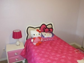 I wish for a Hello Kitty room make over