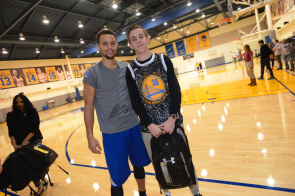 Nicholas Meets Steph Curry